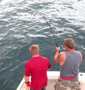 NJ offshore fishing