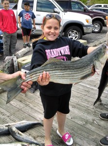 Point Pleasant Striped Bass and Bluefish