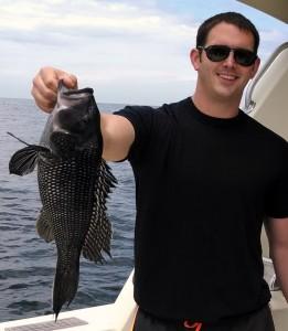 NJ SEABASS FISHING