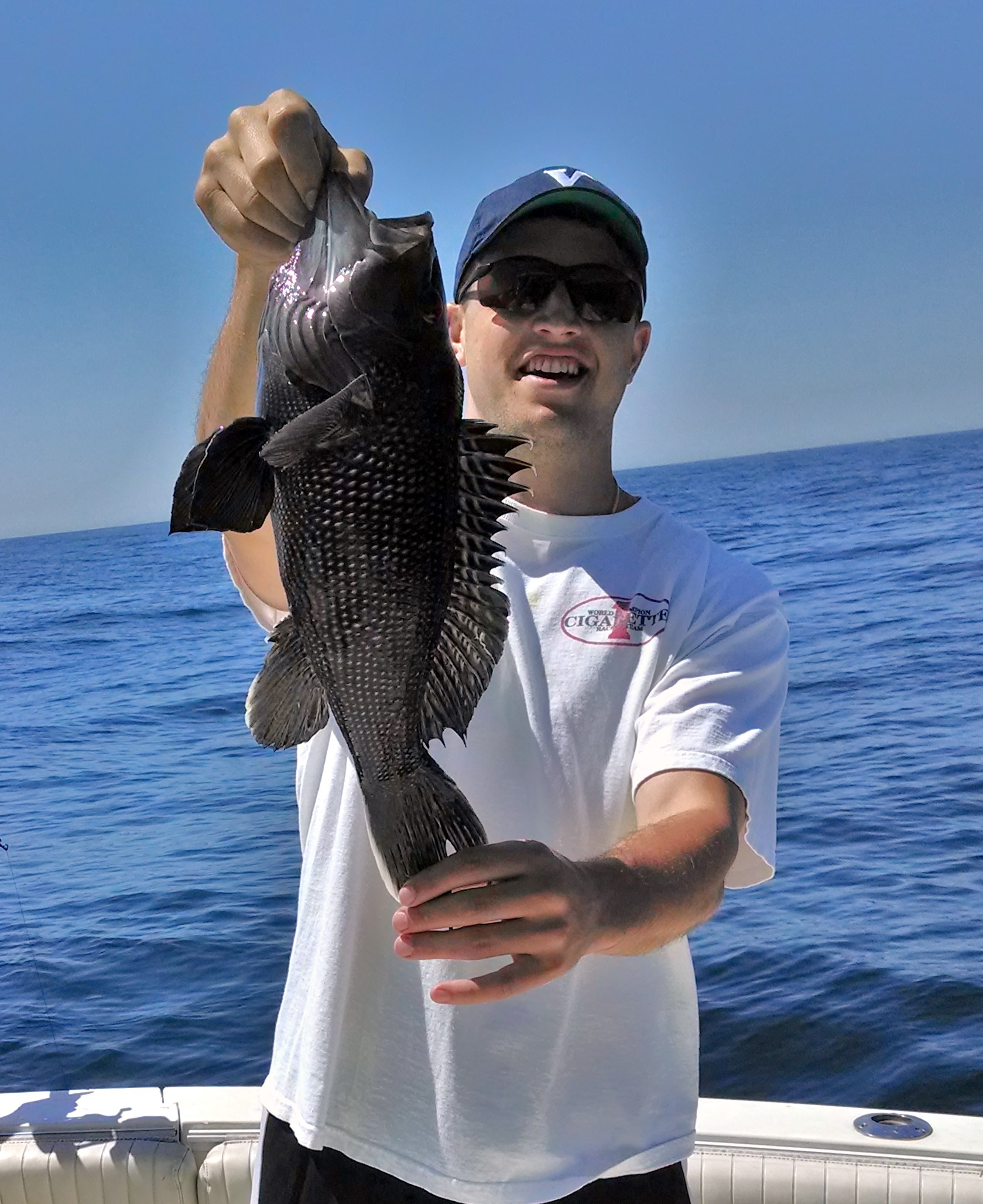 Sea bass fishing fluke charter new jersey charter for Into the blue fishing