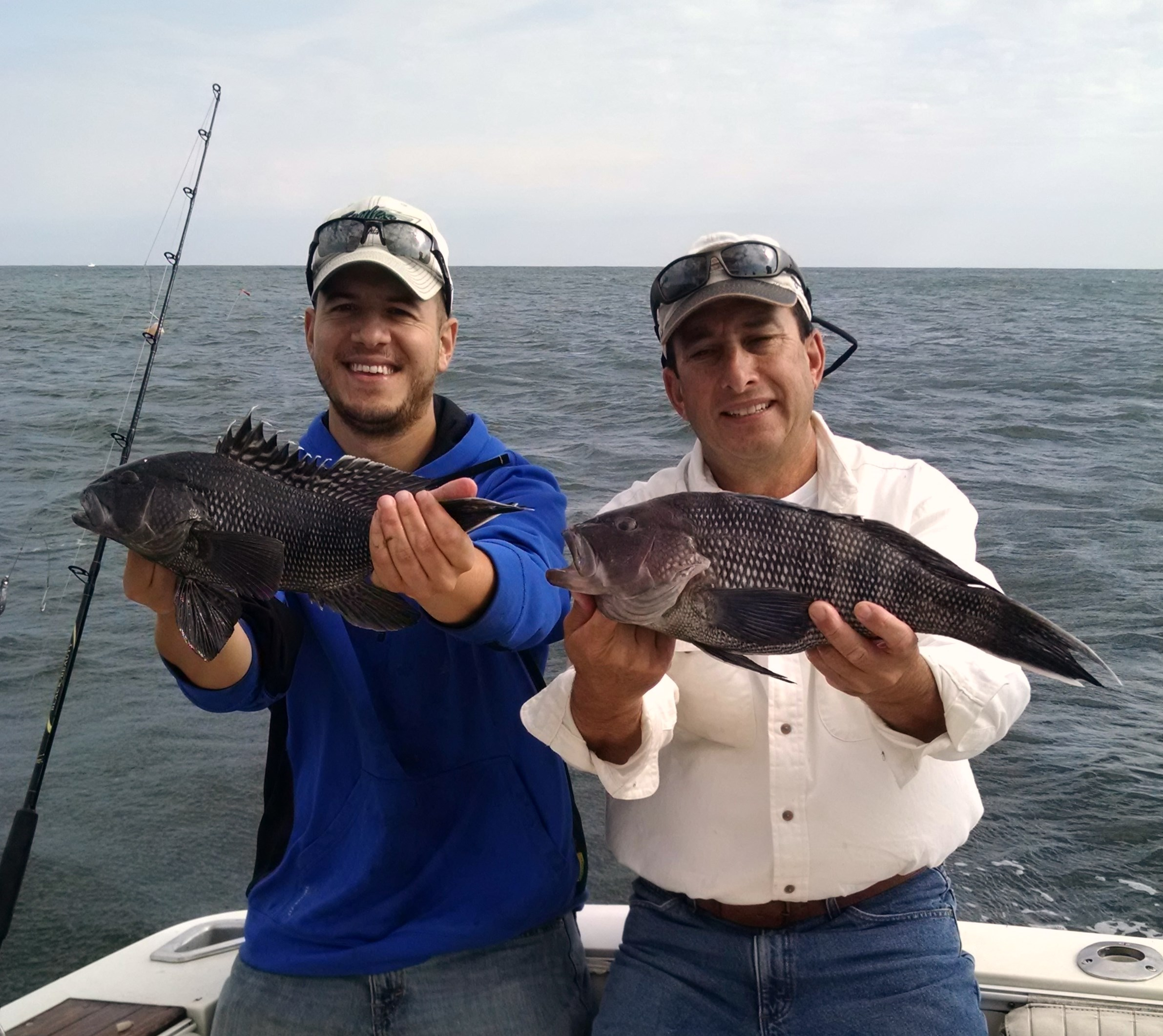 Sea bass season opened up with a bang for pete and his for Point pleasant fishing report