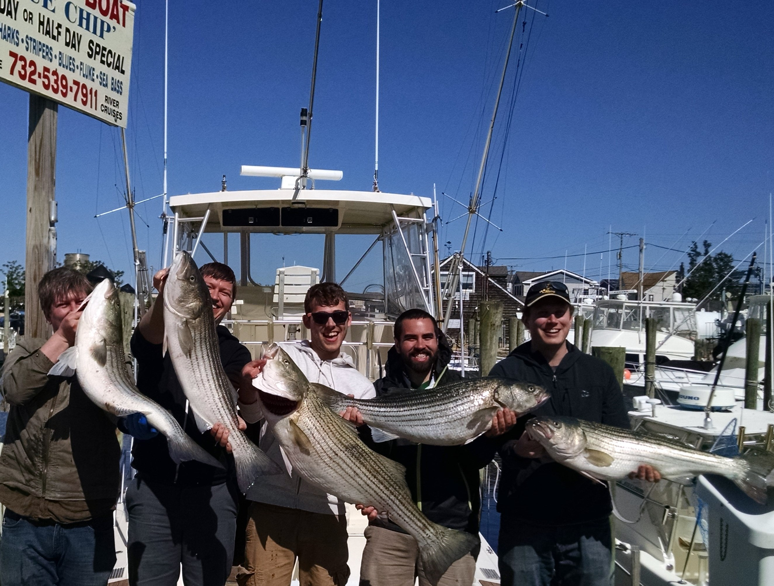 Point pleasant nj fri 5 23 kile and his friends from for Point pleasant fishing report