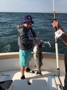 Blue Chip deep sea fishing, Striped Bass