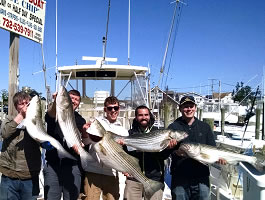 Point Pleasant Fishing Charter - Blue Chip